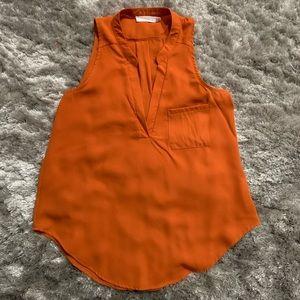 Lush Orange Tunic Tank